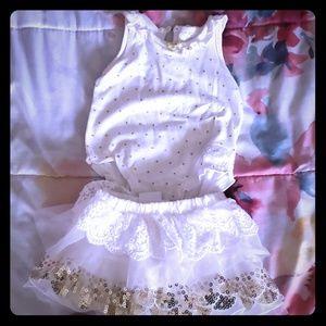 Kardashian kids Baby skirt set